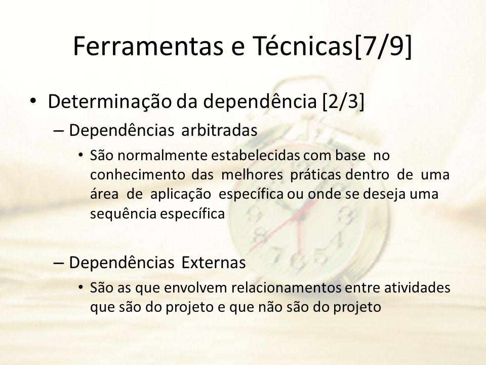 Ferramentas e Técnicas[7/9]